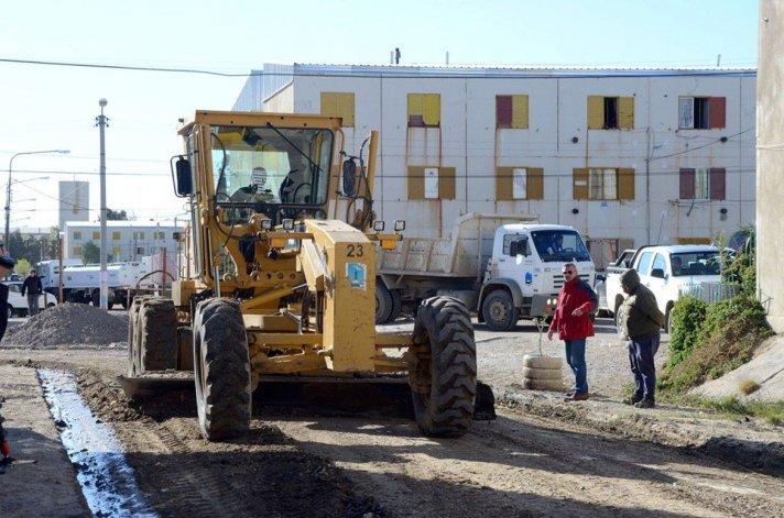 Diversos trabajos de mantenimiento se realizaron en el barrio 30 de Octubre a pedido de los habitantes del sector.