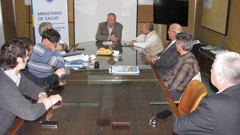 Es mi primera visita a Comodoro Rivadavia en esta nueva etapa al frente del Ministerio de Salud