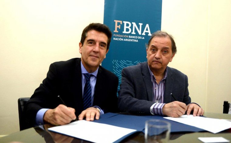 Una de las gestiones de Carlos Linares las hizo ante el titular del Banco Nación