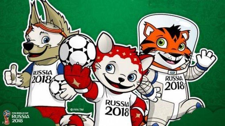 Un gato, un tigre y un lobo se disputan la representación de Rusia 2018