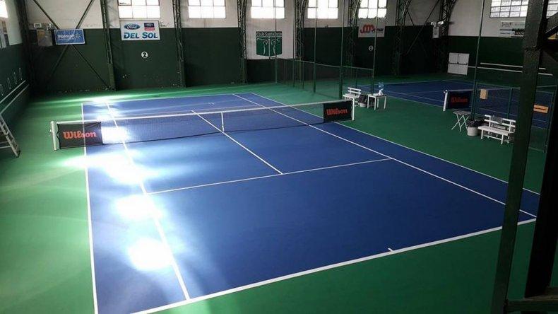 Las semifinales de primera y la final de segunda animan el tenis local