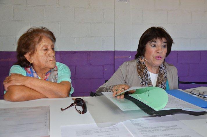 La referente de la Asociación Vecinal del barrio San Isidro Labrador