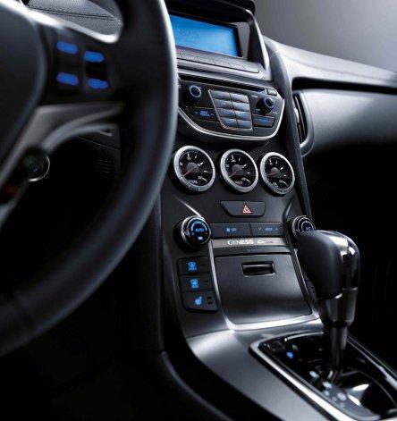 Hyundai Génesis Cupé, con caja automática de ocho velocidades