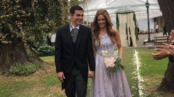 videos exclusivos: asi se casaron isabel macedo y juan manuel urtubey