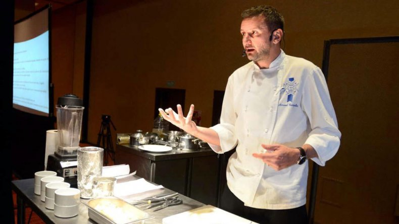 El chef Arnald Guerpillon