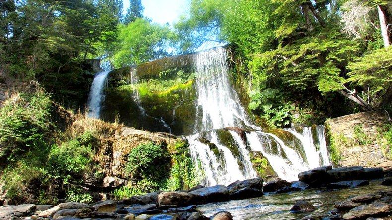 Cascada Escondida es uno de los lugares más bellos de la zona