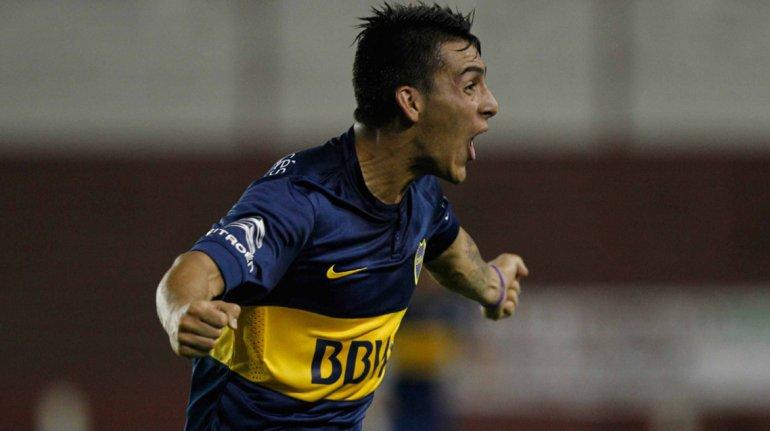 Cristian Pavón será esta tarde uno de los volantes ofensivos cuando Boca reciba a Quilmes.