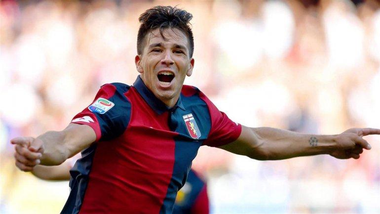 Gio Simeone debutó en las redes italianas