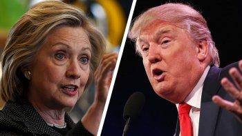 Hillary Clinton y Donald Trump protagonizarán esta noche su primer debate televisivo.