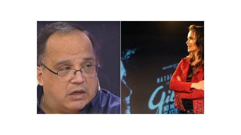Oreiro habló sobre las críticas del  ex representante de Gilda