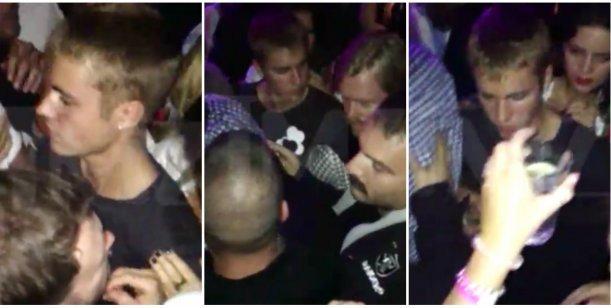 Justin Bieber fue atacado por un hombre en una disco de Munich