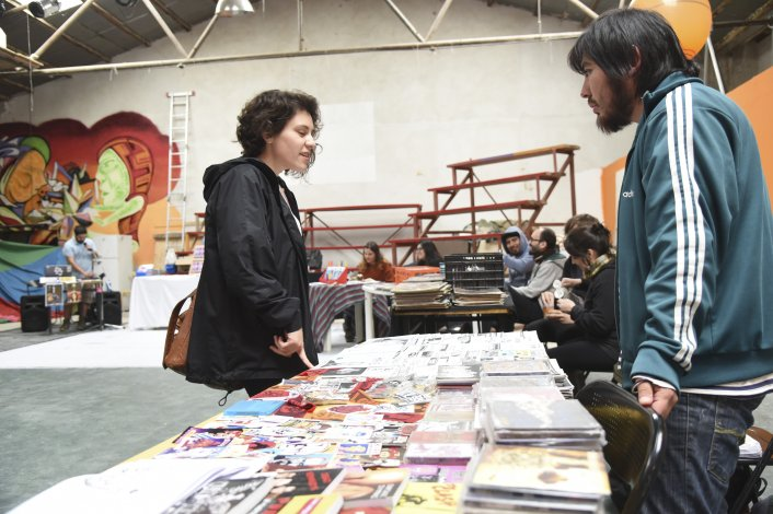 Comodoro tuvo su primer Fanzine Fest. Foto: Mario Molaroni / El Patagónico