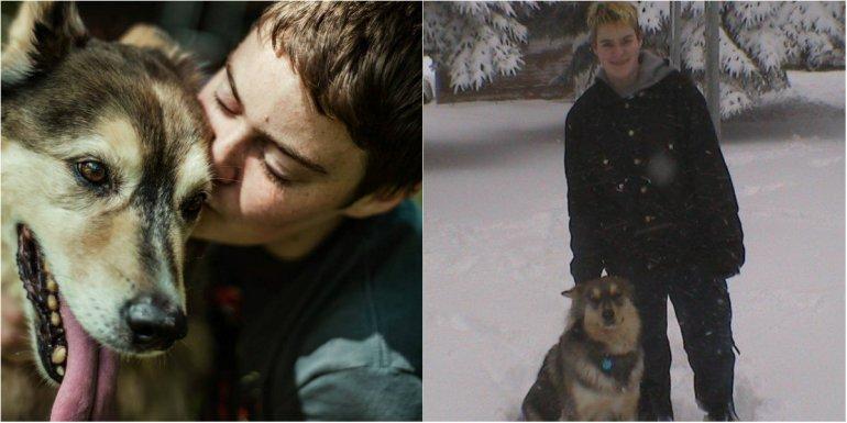 Le prometió llevarlo a la nieve y creó una tormenta artificial antes de morir