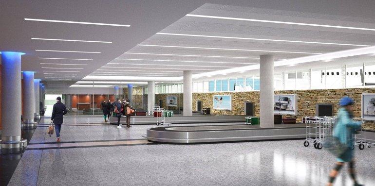 Próximamente comienzan las obras de ampliación: así quedará el aeropuerto