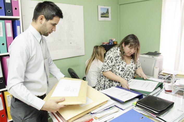 La secretaria de Obras Públicas de Rada Tilly
