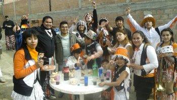 El domingo los chicos del barrio Las Américas disfrutaron de una tarde diferente con la celebración por el día del niño.