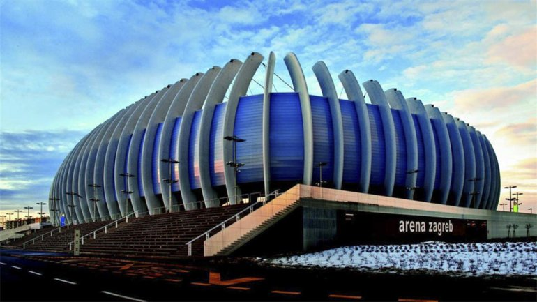 El imponente estadio Arena Zagreb será el escenario de la final de la Copa Davis que se jugará del 25 al 27 de noviembre.