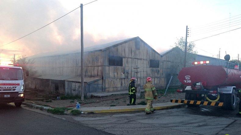 Se incendió el archivo municipal: las pérdidas fueron totales