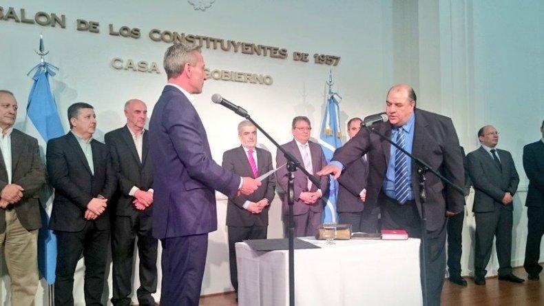 Néstor Quique García quedó al frente como subsecretario de Áreas Protegidas.