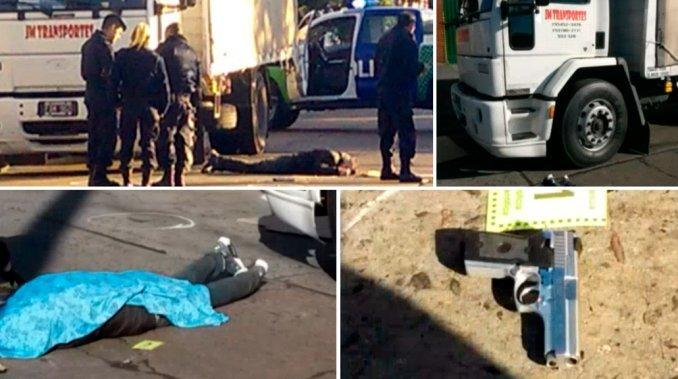 Camionero mató a un delincuente que intentó asaltarlo
