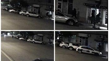 El robo quedó registrado en cámaras de seguridad
