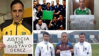 El mundo del fútbol pide justicia por Gustavo Geréz