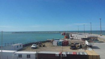 en los proximos dias se reactivan las obras en el puerto local