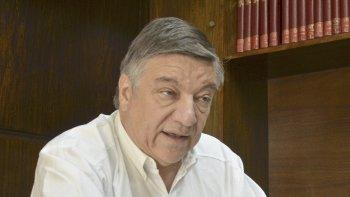 Juan Carlos Herrera, presidente del Colegio Médico de Comodoro Rivadavia.