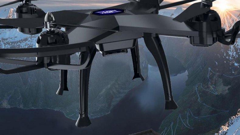 Mirá el dron que se pliega y entra en un bolso