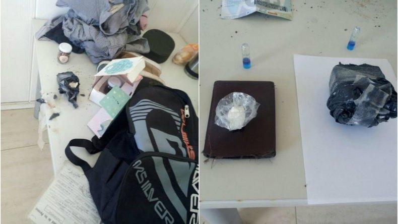 Demoran a un menor con más de 100 gramos de cocaína