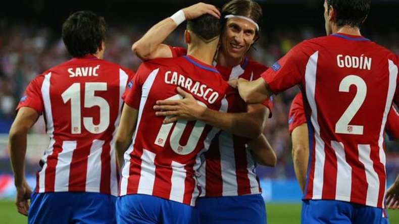 El Atlético de Madrid venció al Bayern