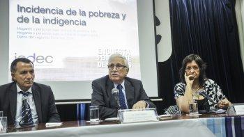 Los datos sobre pobreza e indigencia fueron anunciados por el titular del INDEC, Jorge Todesca.