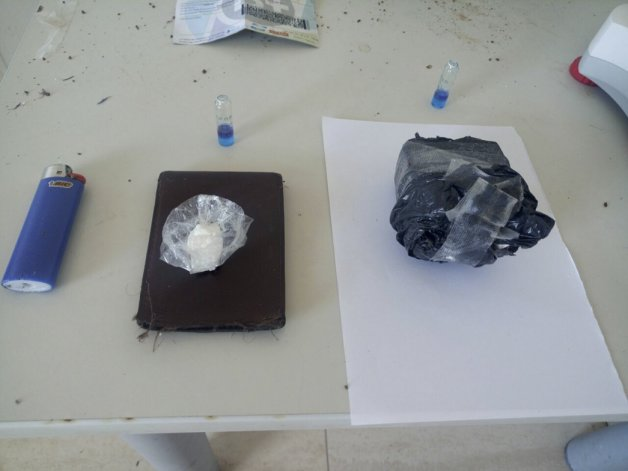 Un adolescente viajaba de Neuquén a  Comodoro con 117 gramos de cocaína