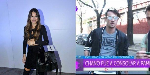 En medio del escándalo, Pampita se encontró con Chano Charpentier