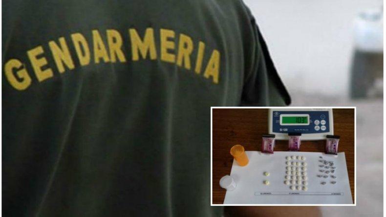 Gendarme detenido en Chile por tenencia de metanfetaminas