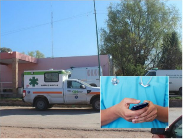 Un médico de guardia no fue al hospital y dio instrucciones por WhatsApp