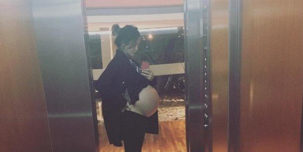 La panzota de Paula Chaves a días de ser mamá: ¡Vamos Balta, salí!