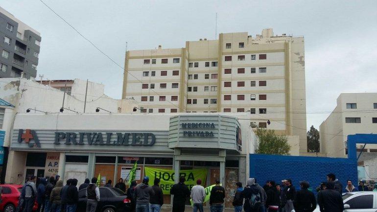 Foto: víaWhatsApp a El Patagónico.