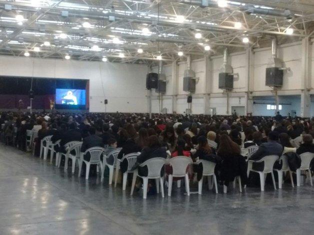 La asamblea regional de Testigos de Jehová reunió hoy a 2.300 fieles