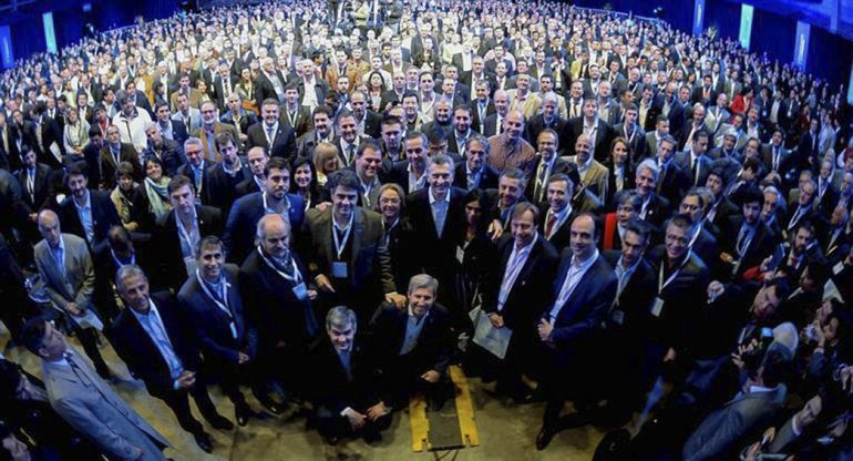 Mauricio Macri juntó a 2.000 intendentes en Tecnópolis.