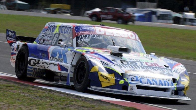 Marcelo Agrelo y su Ford entre los diez en el primer día