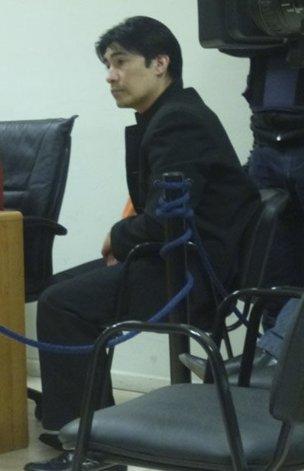 Sebastián Cárdenas pidió regresar a la alcaidía y el lunes se tratará sus condiciones de encierro.