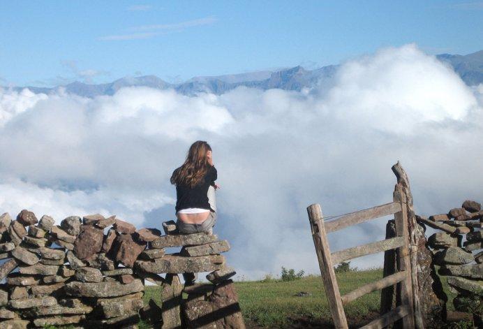 En Alto Calilegua se tiene la sensación de estar más cerca del cielo.