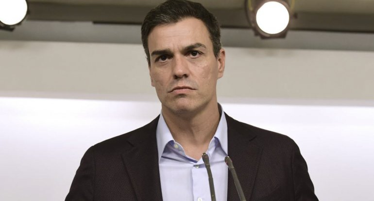 Pedro Sánchez renunció como secretario general del PSOE.
