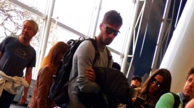 Jimena Barón, infraganti, con su nuevo novio en el aeropuerto