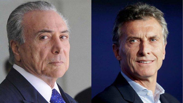 Los presidentes de Argentina y Brasil se reunirán hoy en Olivos.