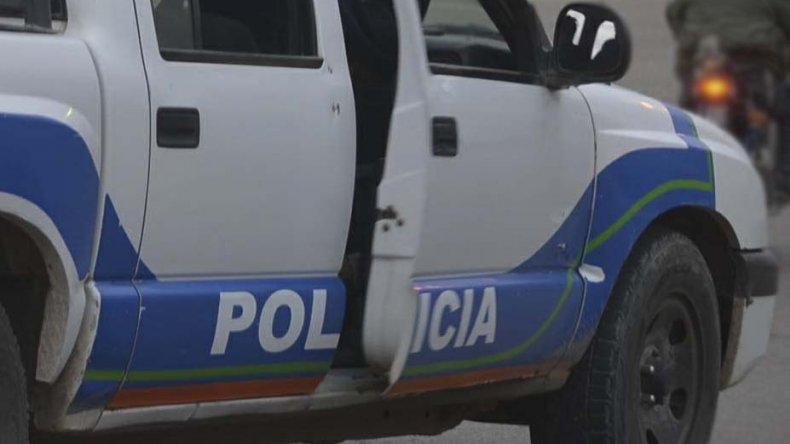 La adolescente arrojó una piedra contra el patrullero para evitar que se llevaran detenida a su pareja.