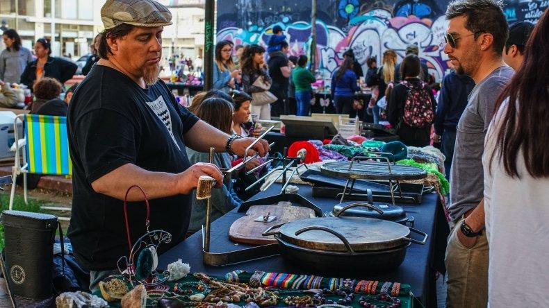 El colorido Circuito Cultural Céntrico. Foto: Mauricio Macretti / El Patagónico.