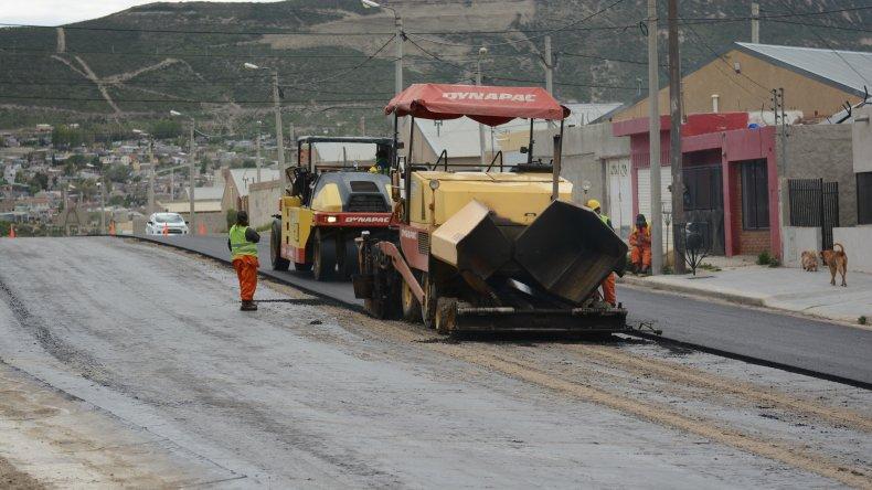 La Municipalidad está llegando con un plan de infraestructura a los barrios