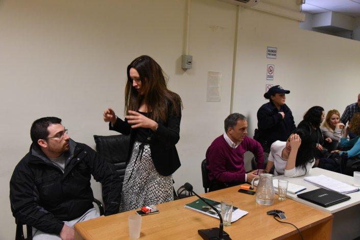 Juicio oral y público por el crimen de Expósito Moreno. Foto: Martín Pérez / El Patagónico